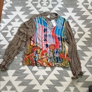 Anthropologie Conditions Apply Blouse